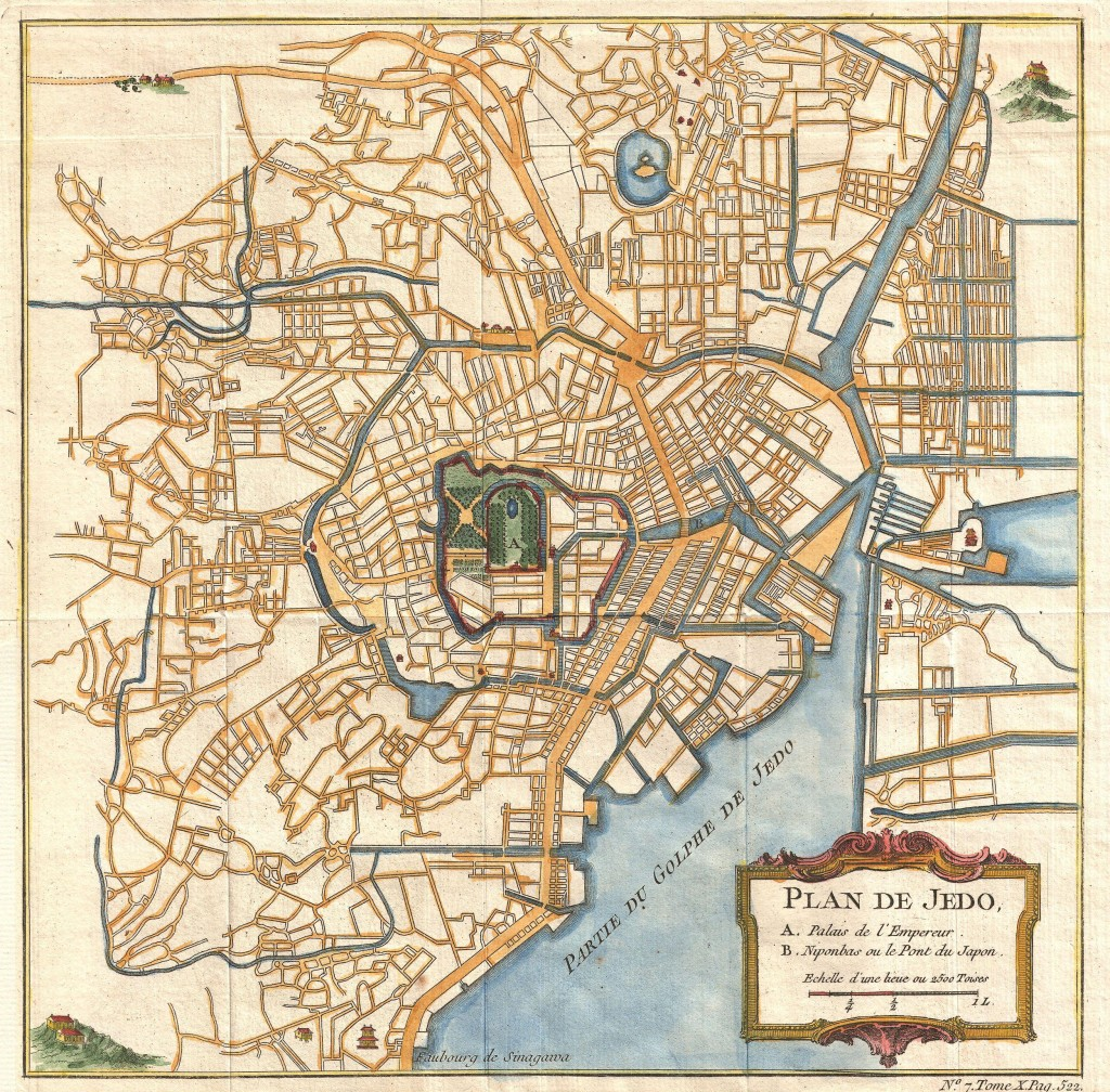 1752_Schely_Plan_or_Map_of_Edo_or_Tokyo,_Japan_-_Geographicus_-_EdoTokyo-schley-1752